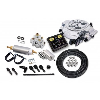 Holley Sniper EFI Quadrajet Master Kit - Shiny Finish