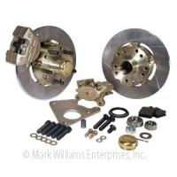 Mark Williams GM 2 Piston Front Brake Kit Fits 1967 - 1969 Camaro / Firebird, 1967 - 1972 Chevelle, and 1968 - 1974 Nova