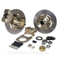 Mark Williams Ford 2 Piston Front Brake Kit Fits 1967 - 1969 Mustang and 1966 - 1969 Comet