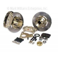 Mark Williams GM 4 Piston Front Brake Kit Fits 1970 - 1976 Camaro / Firebird, 1973 - 1976 Chevelle, 1975 - 1976 Nova