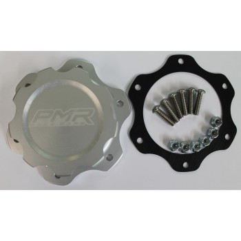 PMR Fuel Cell Cap Assembly- 6 Bolt Clear with Gasket