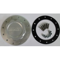 PMR Fuel Cell Cap Assembly- 12 Bolt Clear with Gasket